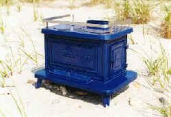&quot;Little Cod&quot; Cast Iron Marine Stove